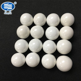 China Free Sample Zirconium Silicate Beads Grinding Media Ball In White Color distributor